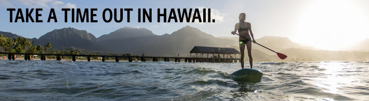 take a time out in hawaii