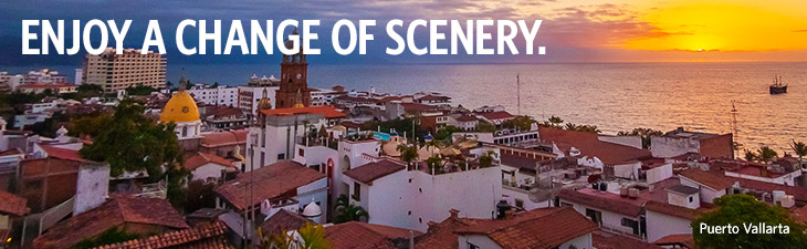 CHANGE THEIR SCENERY WITH THESE SAVINGS. - Riviera Nayarit, Mexico