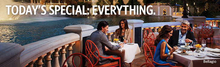 today's special: everything - bellagio