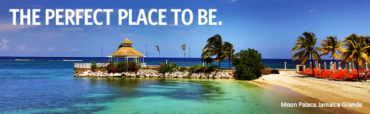 the perfect place to be - location, moon palace jamaica grande