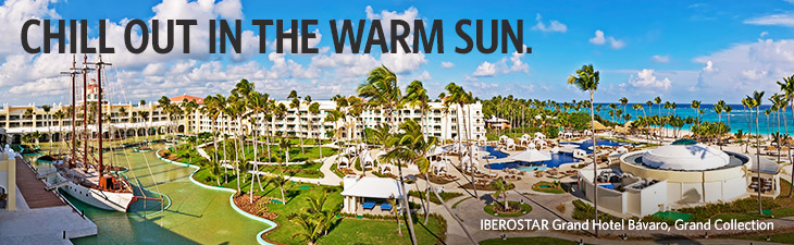 CHILL OUT IN THE WARM SUN. - IBEROSTAR Grand Hotel Bavaro, Grand Collection