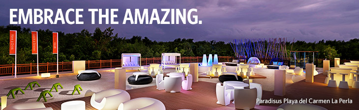 embrace the amazing - location, paradisus playa del carmen la perla