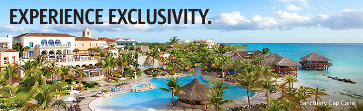 EXPERIENCE EXCLUSIVITY - Sanctuary Cape Cana