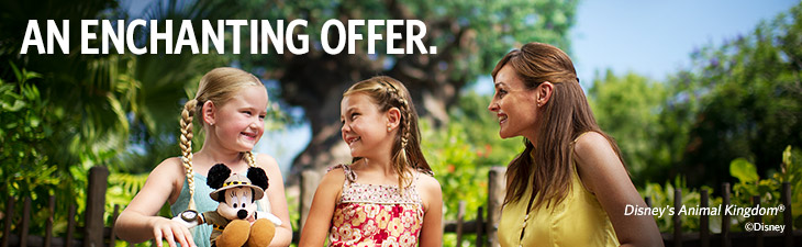 an enchanting offer - location, walt disney world resort