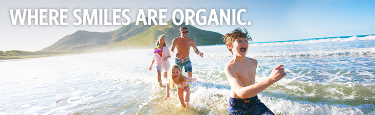 MAKE YOUR SMILES MORE ORGANIC - location, ST. KITTS AND NEVIS