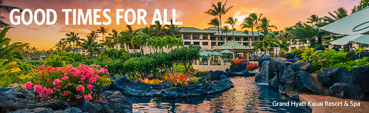 BOOK AN ADVENTURE IN HAWAII. - Grand Hyatt Kauai Resort & Spa