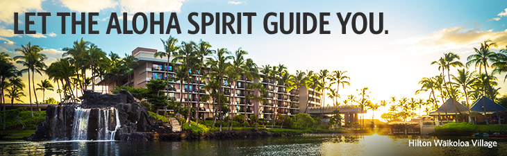 LET THE SPIRIT GUIDE YOU. - Hilton Waikoloa Village