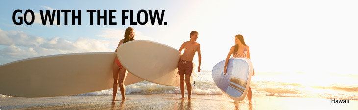 GO WITH THE FLOW.
