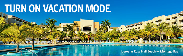 TURN ON VACATION MODE. - Iberostar Rose Hall Beach — Montego Bay