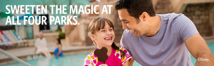 SWEETEN THE MAGIC AT ALL FOUR PARKS.