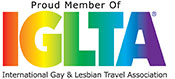 Proud Member of IGLTA (International Gay & Lesbian Travel Association)