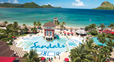 Sandals Grande St. Lucian Spa & Beach Resort - Adults Only