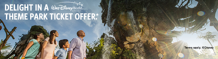 4 Parks One World. Endless magic. Walt Disney World. 4 Park Magic Ticket. Limited Time Offer!