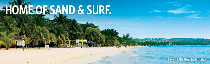 HOME OF SURF & TURF -  location, Seven Mile Beach, Jamaica