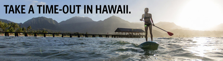 take a time-out in hawaii