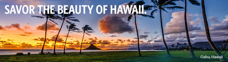 SAVOR THE FAVOR OF HAWAII