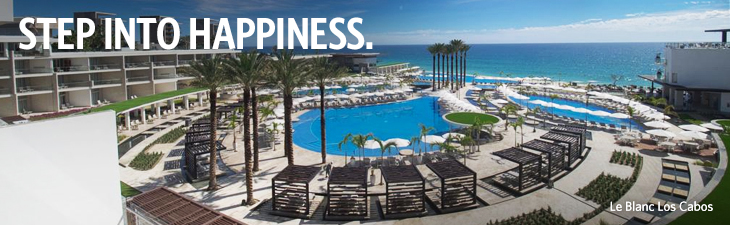 step into happiness - location, beach palace cancun
