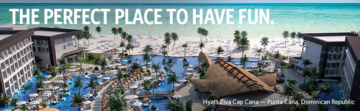 THE PERFECT PLACE TO HAVE FUN (Hyatt Ziva Cap Cana — Punta Cana, Dominican Republic)