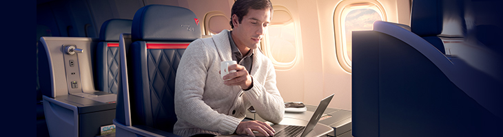 SkyMiles - Upgrade to First Class with Delta Vacations